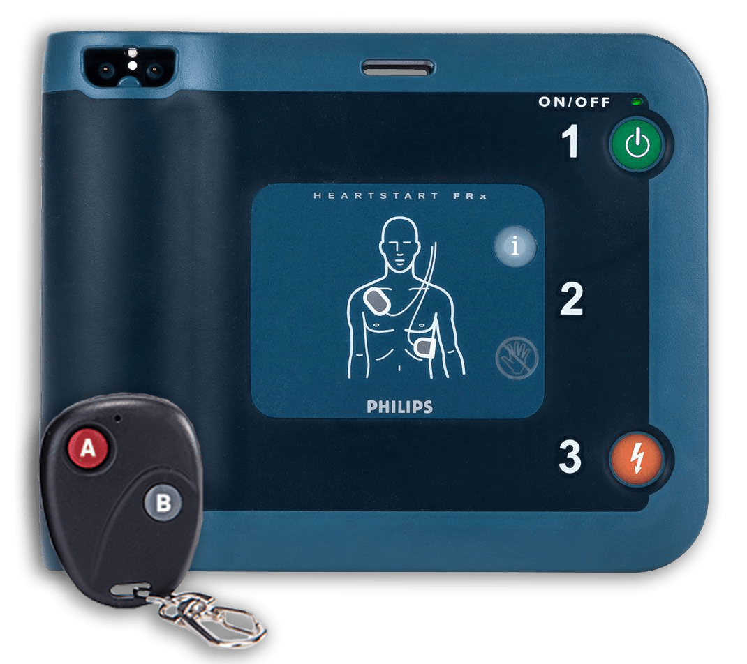 Philips Heartstart AED Trainer Unit FRx With Remote Control